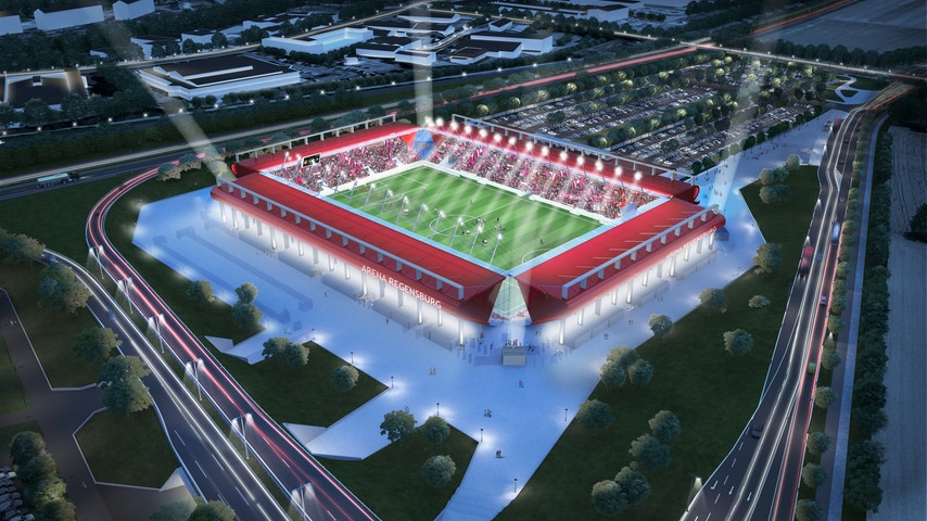 Regensburg: Neues Stadion im Anflug | liga3-online.de