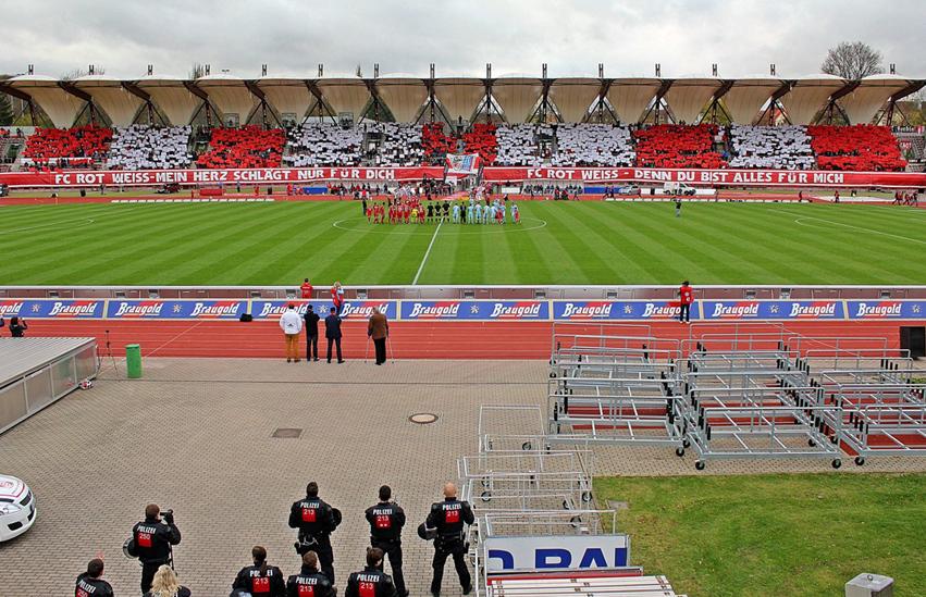 Rot-Weiß Erfurt hofft auf ausverkauftes Stadion gegen ...