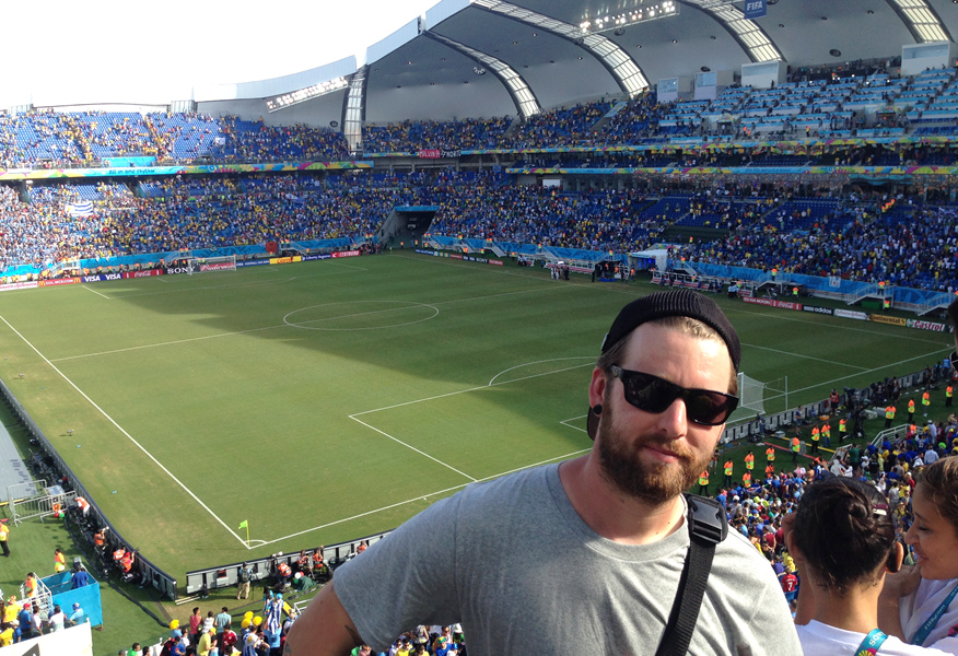 Als Fanbotschafter in Brasilien – Michael Aschmann im ...