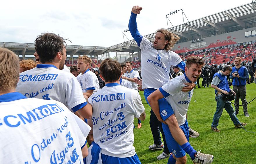 1. FC Magdeburg verabschiedet nach Aufstieg fünf Spieler ...