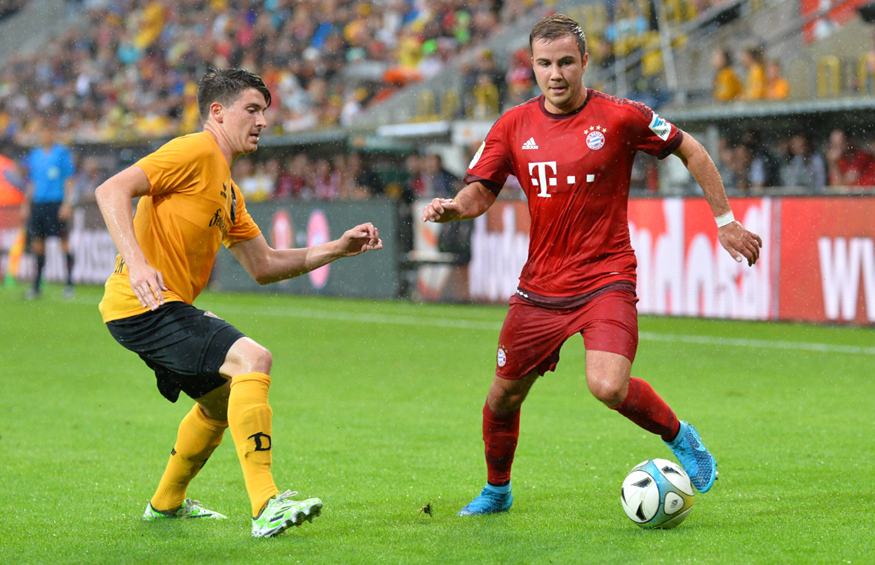 Dynamo Verliert Benefizspiel Gegen Bayern München Mit 13 Liga3