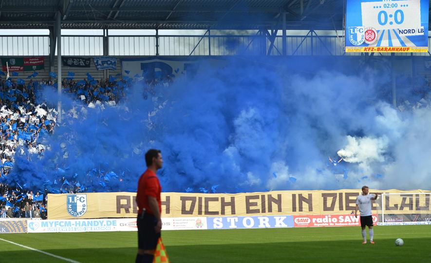 FCM-Fans sammeln Geld für DFB-Strafe nach Pyrotechnik ...