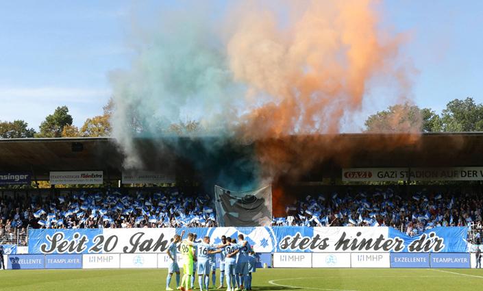 Pyrotechnik: Stuttgarter Kickers suchen Augenzeugen ...