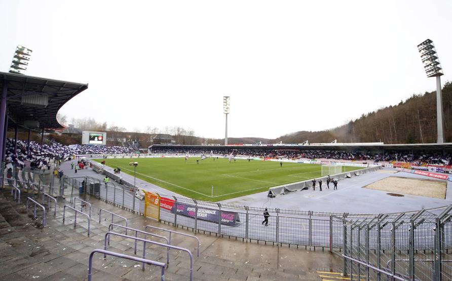 Erzgebirge Aue: Abrissarbeiten im Stadion beginnen | liga3 ...