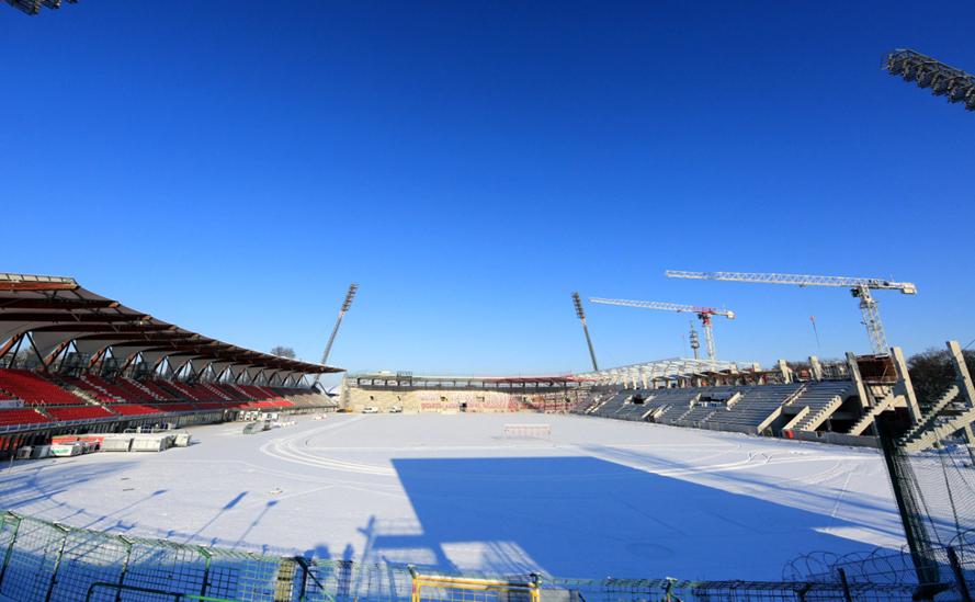Schneefälle: Welche Partien stehen auf der Kippe?   liga3 ...