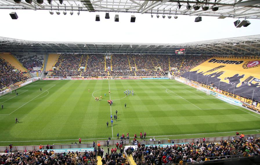 31.000 Fans gegen Großaspach: Dynamo stellt Rekorde auf ...
