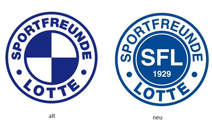 Sportfreunde Lotte gehen mit neuem Logo in die 3. Liga ...