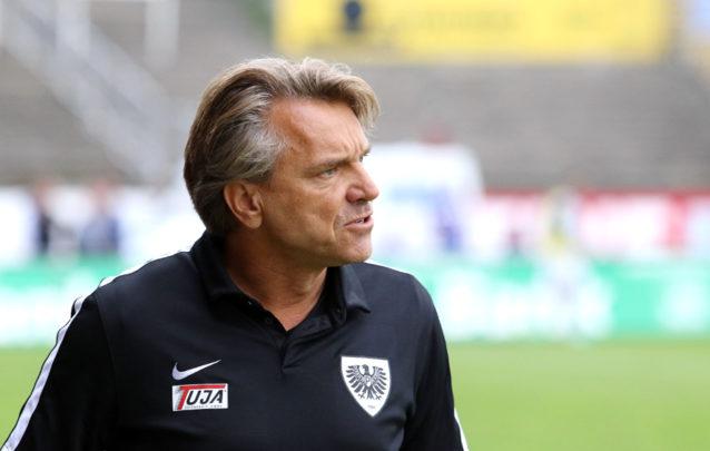 Preußen Münster hält vorerst an Trainer Horst Steffen fest ...