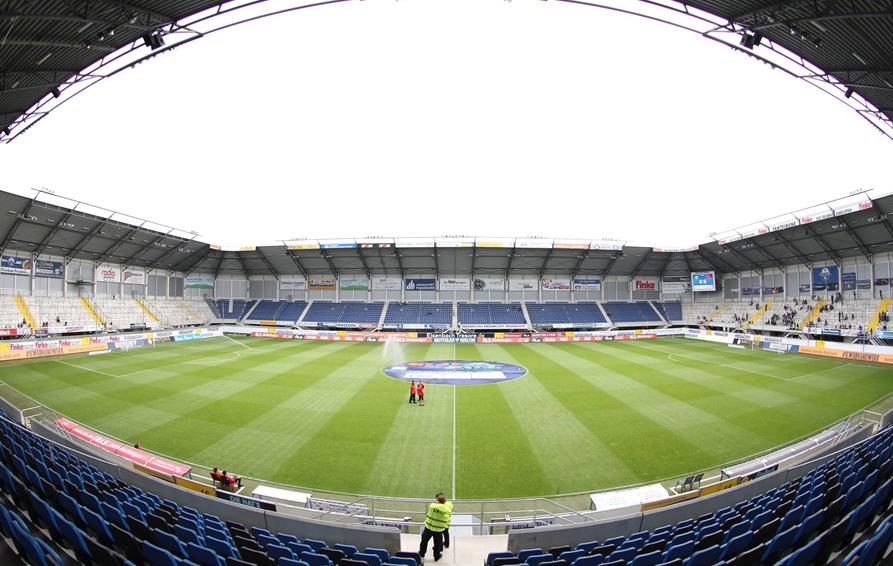 SC Paderborn: Das Stadion leer gespielt | liga3-online.de