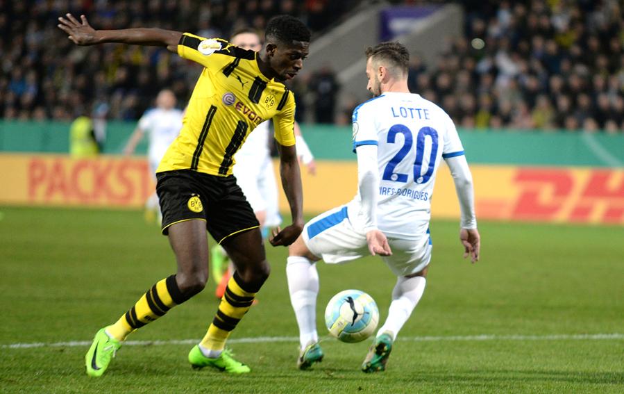 Dfb Pokal Dortmund Lotte