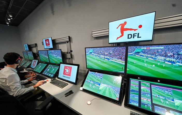 DFB-Pokal ab dem Viertelfinale mit Video-Assistent | liga3 ...