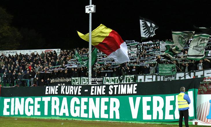 Video: Preußen-Ultras nach neun Jahren wieder vereint ...