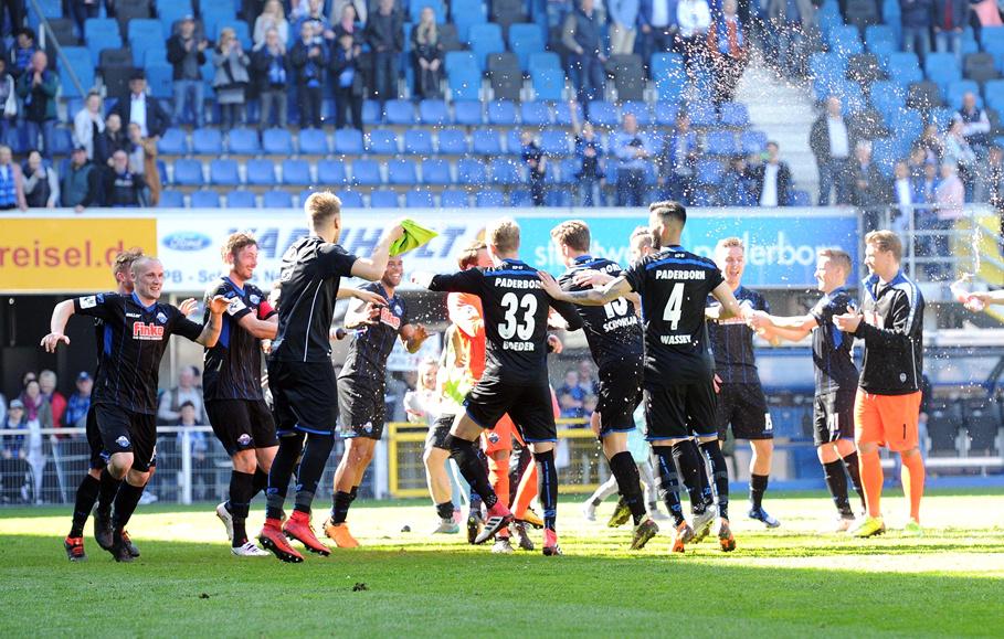 8 Punkte Vorsprung! Paderborn kommt Aufstieg immer näher ...