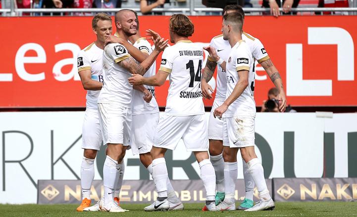 Hessenpokal: Wehen Wiesbaden nach einem 2:0 im ...